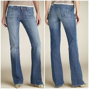 Citizens of Humanity Low Waist Kelly Bootcut Jeans